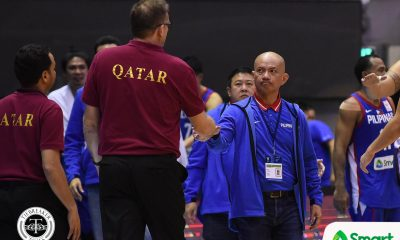 Tiebreaker Times Seeing Gilas players sacrifice, Yeng Guiao vows to bring Philippines to World Cup 2019 FIBA World Cup Qualifiers Basketball Gilas Pilipinas News  Yeng Guiao Gilas Elite 2019 FIBA World Cup Qualifiers