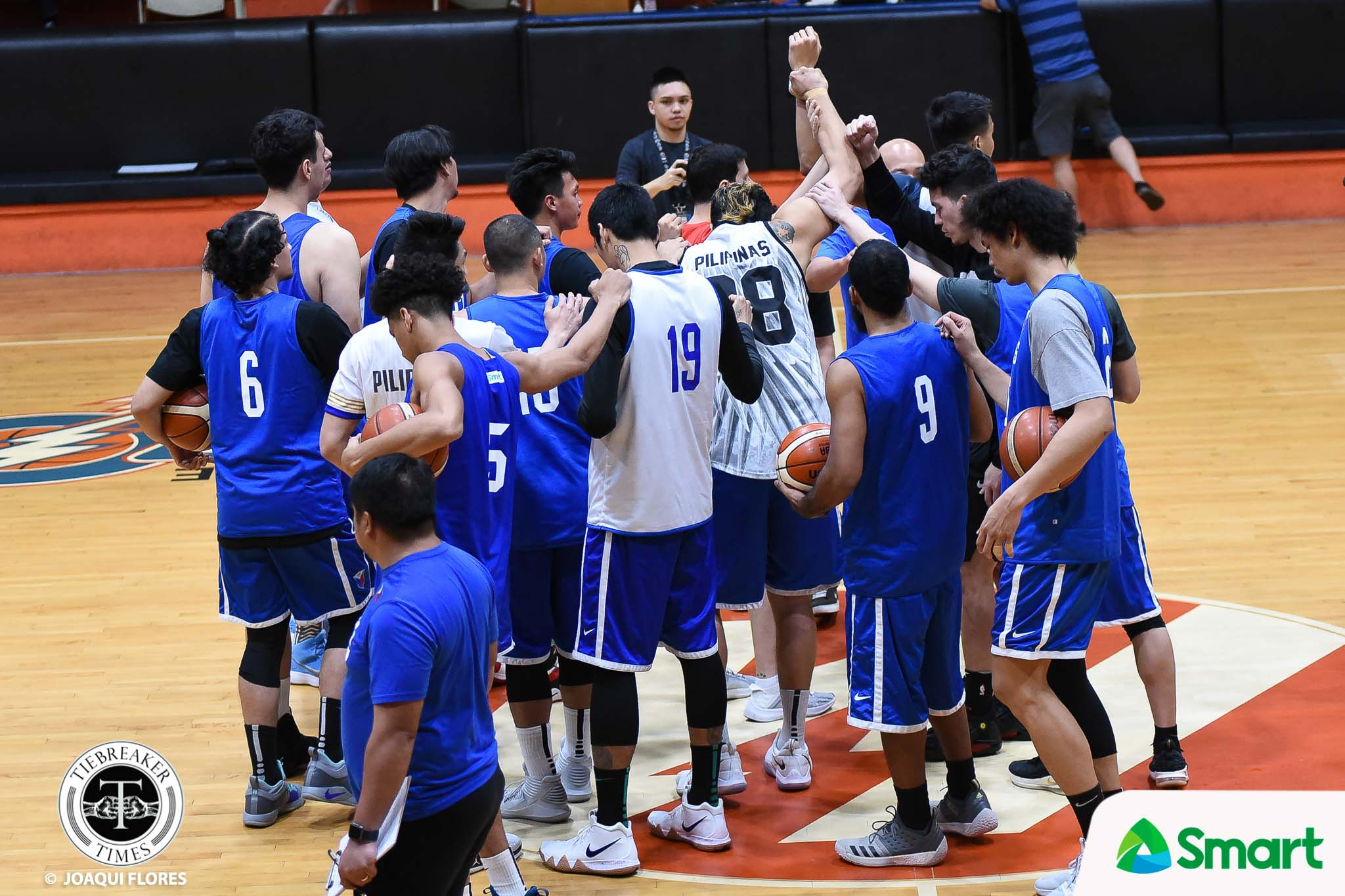 Tiebreaker Times Philippine Team mauls iECO in tune-up 2019 FIBA World Cup Qualifiers Basketball Gilas Pilipinas News  Yeng Guiao Stanley Pringle Scottie Thompson Raymond Almazan Paul Lee Marcio Lassiter JP Erram Joshua Munzon IECO Green Warriors Ian Sangalang Gilas Elite Gabe Norwood Gab Banal Beau Belga Asi Taulava Ariel Vanguardia Allein Maliksi Alex Cabagnot Aguilar 2019 FIBA World Cup Qualifiers