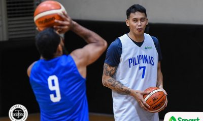 Tiebreaker Times Poy Erram hopes to recover quick after spraining ankle 2019 FIBA World Cup Qualifiers Basketball Gilas Pilipinas News  JP Erram Gilas Pilipinas Men 2019 FIBA World Cup