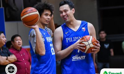 Tiebreaker Times Japeth Aguilar ready to fill shoes left by good friend Slaughter Basketball News PBA  PBA Season 45 Japeth Aguilar Greg Slaughter Barangay Ginebra San Miguel