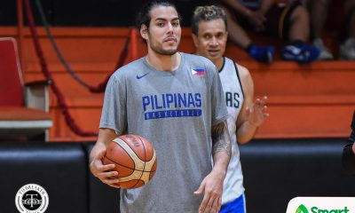 Tiebreaker Times Christian Standhardinger goes back to work Basketball Gilas Pilipinas News  Gilas Elite Christian Standhardinger 2019 FIBA World Cup Qualifiers