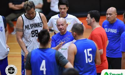 Tiebreaker Times Yeng Guiao assures World Cup cuts will be shoo-ins for SEA Games 2019 FIBA World Cup Qualifiers 2019 SEA Games Basketball Gilas Pilipinas News  Yeng Guiao Gilas Pilipinas Men 2019 SEA Games - Basketball 2019 SEA Games 2019 FIBA World Cup
