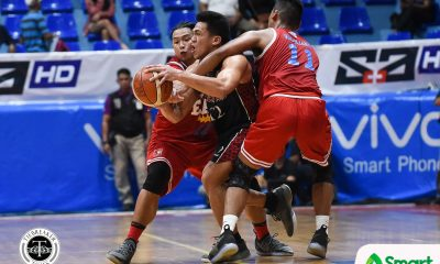 Tiebreaker Times Letran troika waits for the right moment Basketball CSJL NCAA News  NCAA Season 94 Seniors Basketball NCAA Season 94 Letran Seniors Basketball Koy Galvelo Jeremiah Taladua Jeff Napa Fran Yu