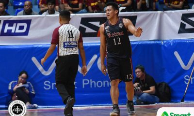 Tiebreaker Times Unlikely trio steps up as Letran staves off EAC Basketball CSJL EAC NCAA News  NCAA Season 94 Seniors Basketball NCAA Season 94 Letran Seniors Basketball Koy Galvelo JP Maguliano Jerome Garcia Jeremiah Taladua Jeff Napa Hamadou Laminou Fran Yu EAC Seniors Basketball Ariel Sison