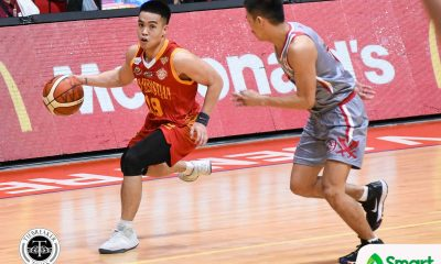 Tiebreaker Times RK Ilagan filled with regrets after letting Michael Calisaan, San Sebastian down Basketball NCAA News SSC-R  San Sebastian Seniors Basketball RK Ilagan NCAA Season 94 Seniors Basketball NCAA Season 94