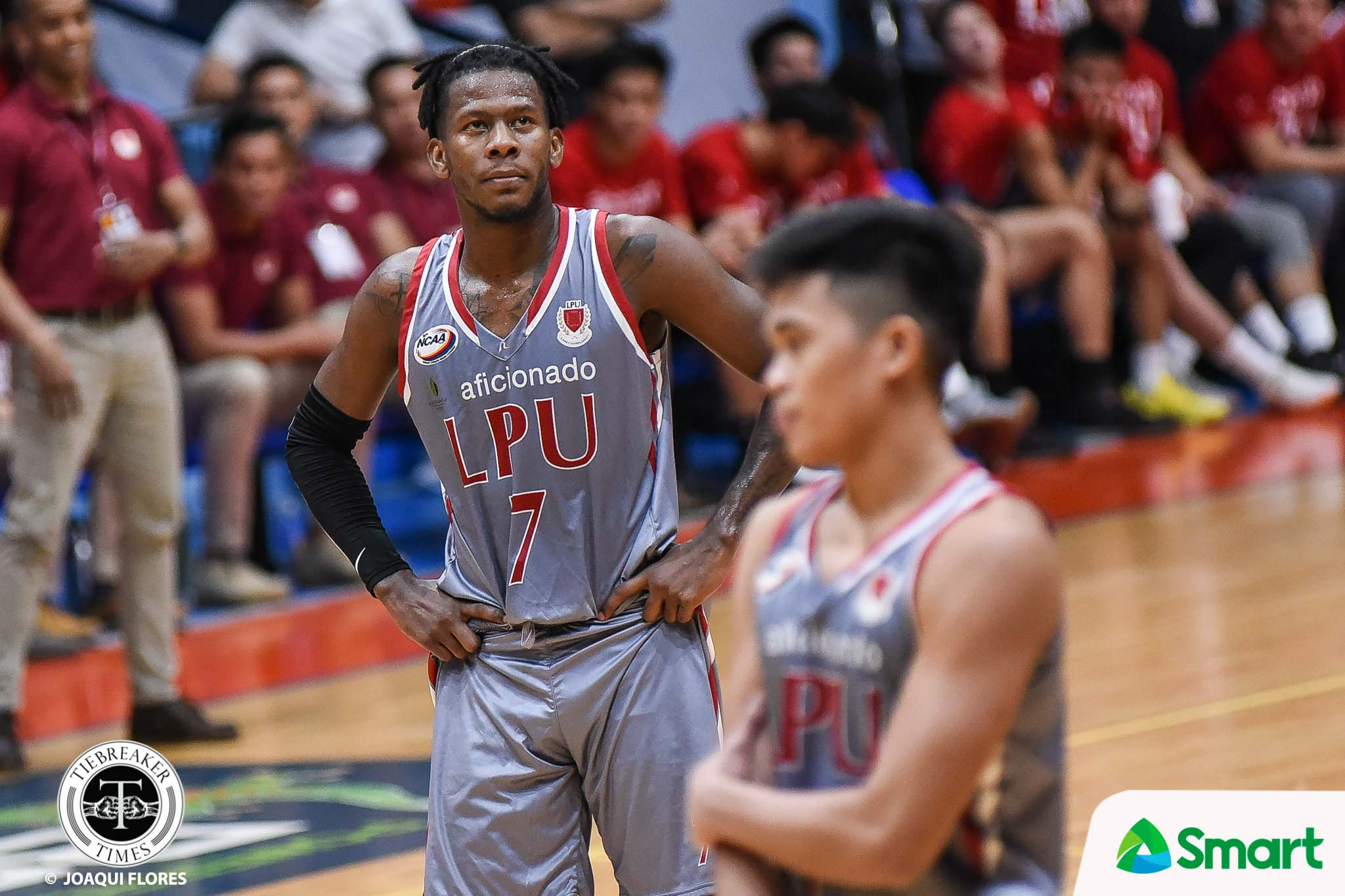 Tiebreaker Times Topex Robinson talks as a father: 'CJ didn't do anything wrong, hindi naman siya nag-ligang labas' Basketball LPU NCAA News  Topex Robinson NCAA Season 94 Seniors Basketball NCAA Season 94 Lyceum Seniors Basketball CJ Perez
