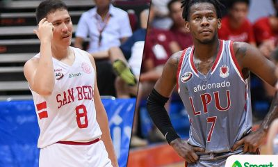 Tiebreaker Times From 'Baby Beast' to 'Dipsy-doo', Rolly Manlapaz leaves imprint on NCAA stars Basketball LPU NCAA News SBC  Topex Robinson San Beda Seniors Basketball Robert Bolick NCAA Season 94 Seniors Basketball NCAA Season 94 Lyceum Seniors Basketball CJ Perez Boyet Fernandez