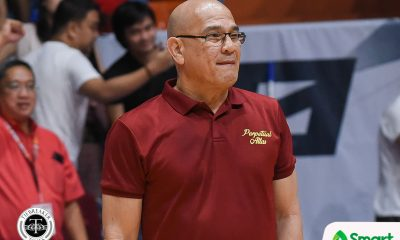 Tiebreaker Times Frankie Lim gets added bonus: 'Akin lang yung sweep' Basketball NCAA News UPHSD  Perpetual Seniors Basketball NCAA Season 94 Seniors Basketball NCAA Season 94 Frankie Lim