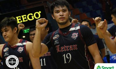 Tiebreaker Times Knights fight on for Jerrick Balanza Basketball CSJL NCAA News  Raymond Valenzona NCAA Season 94 Seniors Basketball NCAA Season 94 Juniors Basketball NCAA Season 94 Letran Seniors Basketball Letran Juniors Basketball Jerrick Balanza Jeff Napa Bong Quinto