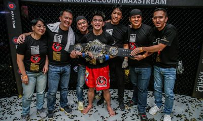 Tiebreaker Times Joshua Pacio extra motivated as first title defense falls during ONE's US TV debut Mixed Martial Arts News ONE Championship  Team Lakay ONE: Eternal Glory Joshua Pacio