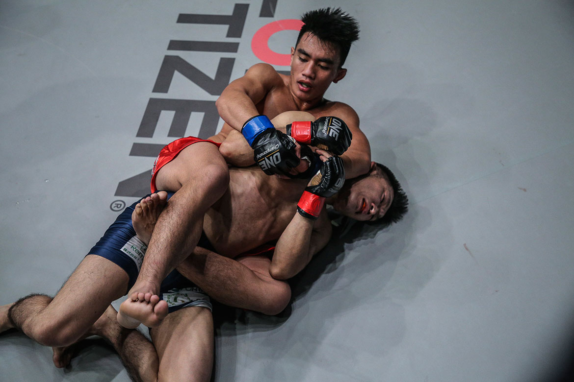 Tiebreaker Times Joshua Pacio heads to Manila to train with John Baylon Mixed Martial Arts News ONE Championship  Team Lakay Joshua Pacio John Baylon