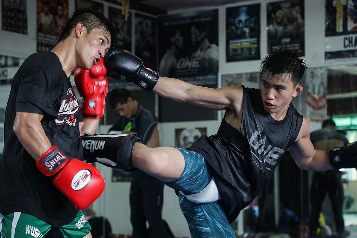 Tiebreaker Times Joshua Pacio thankful for 'Godsend' Danny Kingad Mixed Martial Arts News ONE Championship  Team Lakay ONE: Conquest of Heroes Joshua Pacio Danny Kingad