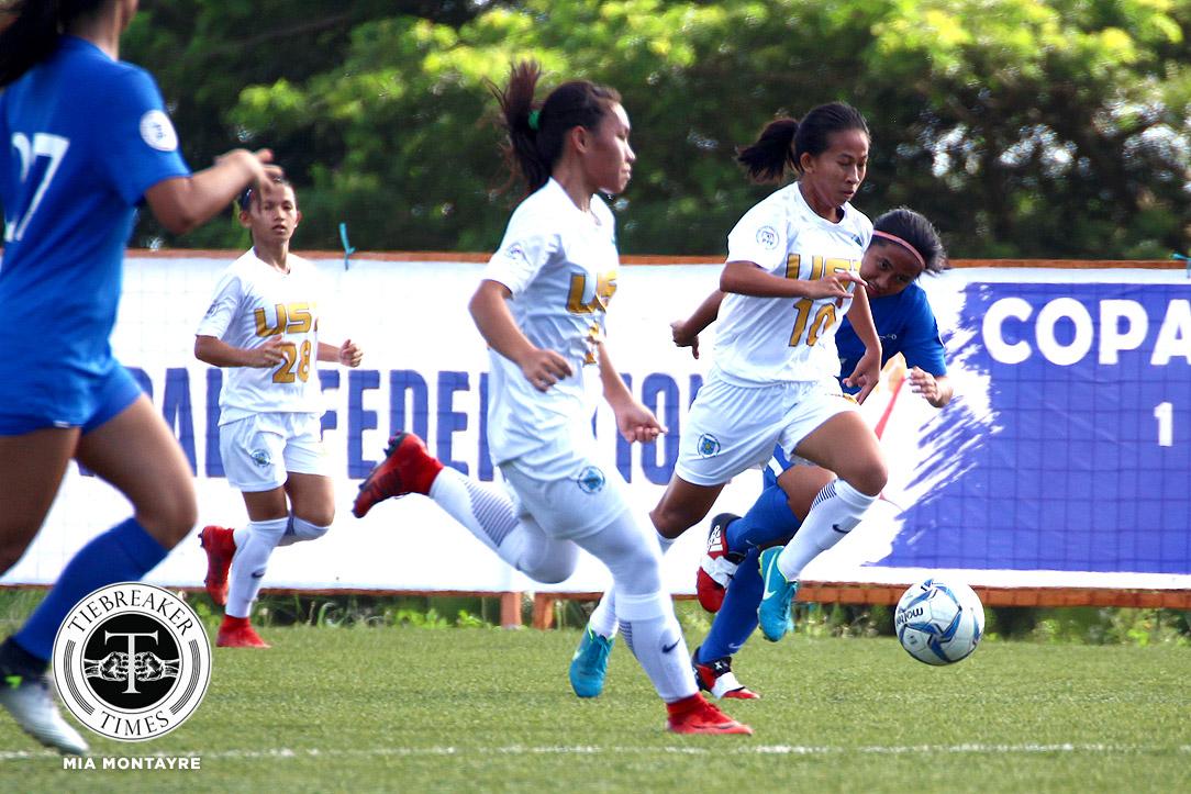 PFFWL-2018-M3-UST-def-ADMU-Lemoran-Indac-Cadag Zobel nabs first win as UST, OutKast FC stay perfect ADMU FEU Football News PFF Women's League UP UST  - philippine sports news
