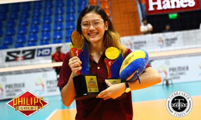 Tiebreaker Times Isa Molde deflects all credit to teammates for first MVP News PVL UP Volleyball  UP Women's Volleyball Isa Molde 2018 PVL Women's Collegiate Conference 2018 PVL Season