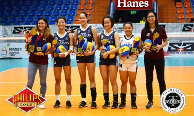 Tiebreaker Times Isa Molde bags MVP plum AdU FEU News PVL UP Volleyball  Thang Ponce MJ Igao Isa Molde Eli Soyud Celine Domingo Bernadette Flora Aie Gannaban 2018 PVL Women's Collegiate Conference 2018 PVL Season