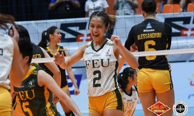 Tiebreaker Times Rookie Lycha Ebon provides morale boost, plays beyond her years FEU News PVL Volleyball  Lycha Ebon George Pascua FEU Women's Volleyball 2018 PVL Women's Collegiate Conference 2018 PVL Season