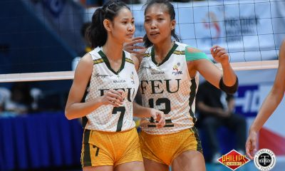 Tiebreaker Times Kyle Negrito scorches UST in setting and scoring FEU News PVL Volleyball  Kyle Negrito FEU Women's Volleyball 2018 PVL Women's Collegiate Conference 2018 PVL Season