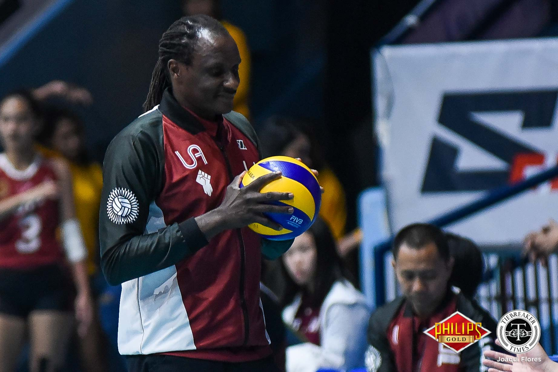Tiebreaker Times Comeback from 7-13 down? It was part of the plan, says Godfrey Okumu News PVL UP Volleyball  UP Women's Volleyball Godfrey Okumu Ayel Estranero 2018 PVL Women's Collegiate Conference 2018 PVL Season