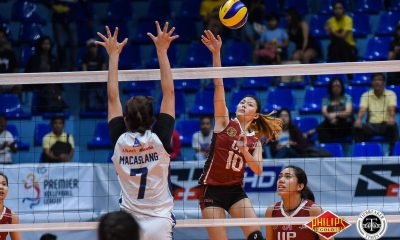 Tiebreaker Times Isa Molde pulls motivation from team, pushes UP to Finals News PVL UP Volleyball  UP Women's Volleyball Isa Molde 2018 PVL Women's Collegiate Conference 2018 PVL Season