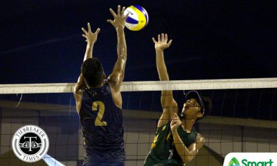 Tiebreaker Times FEU's Jude Garcia-Kevin Hadlocon nears elims sweep, outright Finals berth ADMU AdU Beach Volleyball DLSU FEU News NU UAAP UE UP UST  UST Men's Volleyball UP Men's Volleyball UE Men's Volleyball UAAP Season 81 Men's Beach Volleyball UAAP Season 81 Raprap Sumalinog Pao Pablico NU Men's Volleyball Niccolo Consuelo Mac Millete Kurt Aguilar Kevin Hadlocan Jude Garcia Jeses Valdez Jaron Requinton James Natividad Gerian Bacon FEU Men's Volleyball DLSU Men's Volleyball Clifford Inoferio Bryan Bagunas Ateneo Men's Volleyball Anthony Arbasto Alvin Aljas Adamson Men's Volleyball Abay Leons