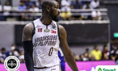 Tiebreaker Times Downcast Bright Akhuetie to celebrate birthday at the gym Basketball News UAAP UP  UP Men's Basketball UAAP Season 81 Men's Basketball UAAP Season 81 Bright Akhuetie