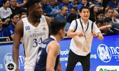 Tiebreaker Times Franz Pumaren, Tab Baldwin express mutual respect ADMU AdU Basketball News UAAP  UAAP Season 81 Men's Basketball UAAP Season 81 Tab Baldwin Franz Pumaren Ateneo Men's Basketball Adamson Men's Basketball
