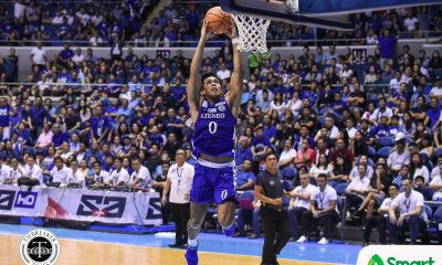 Tiebreaker Times Ateneo displays championship form, dismantles NU for 2nd straight win ADMU Basketball News NU UAAP  UAAP Season 81 Men's Basketball UAAP Season 81 Thirdy Ravena Tab Baldwin NU Men's Basketball Jamike Jarin Ateneo Men's Basketball Angelo Kouame