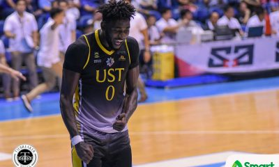 Tiebreaker Times Steve Akomo suffers concussion, diagnosed with blood clot Basketball News UAAP UST  UST Men's Basketball UAAP Season 81 Men's Basketball UAAP Season 81 Steve Akomo