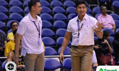 Tiebreaker Times Aldin Ayo looks for personal growth as he juggles UST, Muntinlupa job Basketball News UAAP UST  UST Men's Basketball UAAP Season 81 Men's Basketball UAAP Season 81 Aldin Ayo
