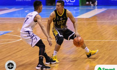 Tiebreaker Times Aldin Ayo on Adamson loss: 'We played like rookies' Basketball News UAAP UST  UST Men's Basketball UAAP Season 81 Men's Basketball UAAP Season 81 Aldin Ayo