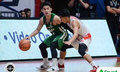 Tiebreaker Times Aljun Melecio does extra work to break out of shooting slump Basketball DLSU News UAAP  UAAP Season 81 Men's Basketball UAAP Season 81 DLSU Men's Basketball Aljun Melecio
