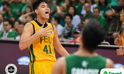 Tiebreaker Times From 13 to 41: Arvin Tolentino inspired by 'idol' Dirk Nowitzki Basketball DLSU News UAAP  UAAP Season 81 Men's Basketball UAAP Season 81 Olsen Racela FEU Men's Basketball Arvin Tolentino