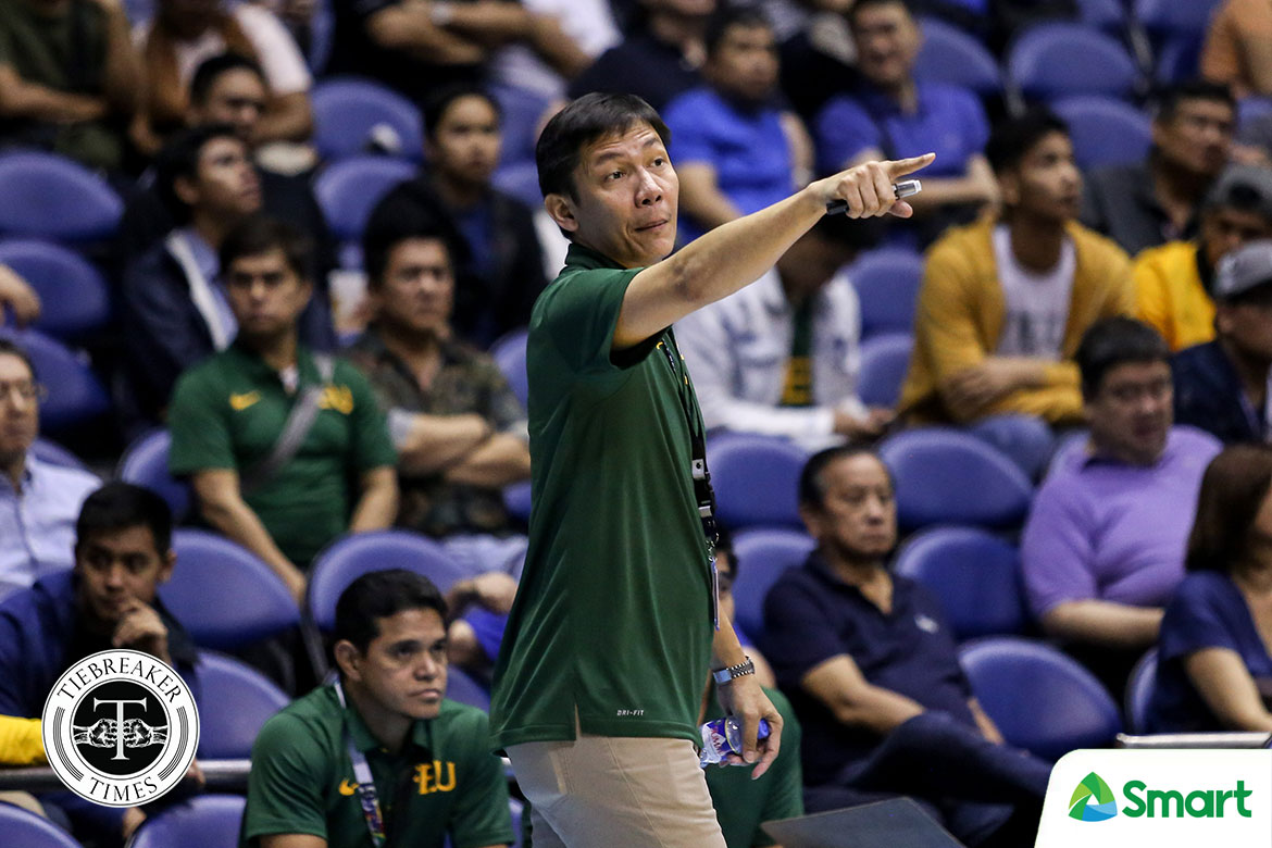 Tiebreaker Times Prince Orizu career game goes for naught as FEU outworked by UST Basketball FEU News UAAP  UAAP Season 81 Men's Basketball UAAP Season 81 Prince Orizu Olsen Racela FEU Men's Basketball