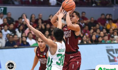 Tiebreaker Times Juan Gomez de Liano not to be denied as UP ends skid at La Salle's expense Basketball DLSU News UAAP UP  UP Men's Basketball UAAP Season 81 Men's Basketball UAAP Season 81 Paul Desiderio Louie Gonzalez Justine Baltazar Juan Gomez De Liano DLSU Men's Basketball Bright Akhuetie