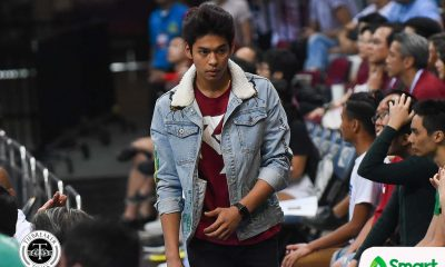 Tiebreaker Times 'Weird feeling' for maroon-clad Ricci Rivero during UP-DLSU tilt Basketball News UAAP UP  UP Men's Basketball UAAP Season 81 Men's Basketball UAAP Season 81 Ricci Rivero