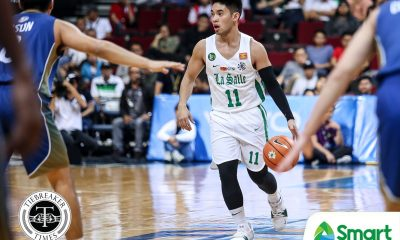 Tiebreaker Times Aljun Melecio aiming for maturity as he assumes leadership role Basketball DLSU News UAAP  UAAP Season 81 Men's Bsaketball UAAP Season 81 DLSU Men's Basketball Aljun Melecio