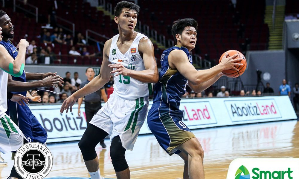 Tiebreaker Times Justine Baltazar seizes the moment, powers La Salle past NU Basketball DLSU News NU UAAP  UAAP Season 81 Men's Basketball UAAP Season 81 Troy Rike Santi Santillan NU Men's Basketball Louie Gonzalez John Lloyd Clemente Jamike Jarin DLSU Men's Basketball Dave Ildefonso Aljun Melecio