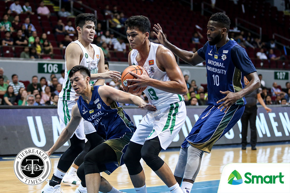 Tiebreaker Times Justine Baltazar wanted to show La Salle, Jeff Napa that he has improved Basketball News NU UAAP  UAAP Season 81 Men's Basketball UAAP Season 81 NU Men's Basketball Justine Baltazar