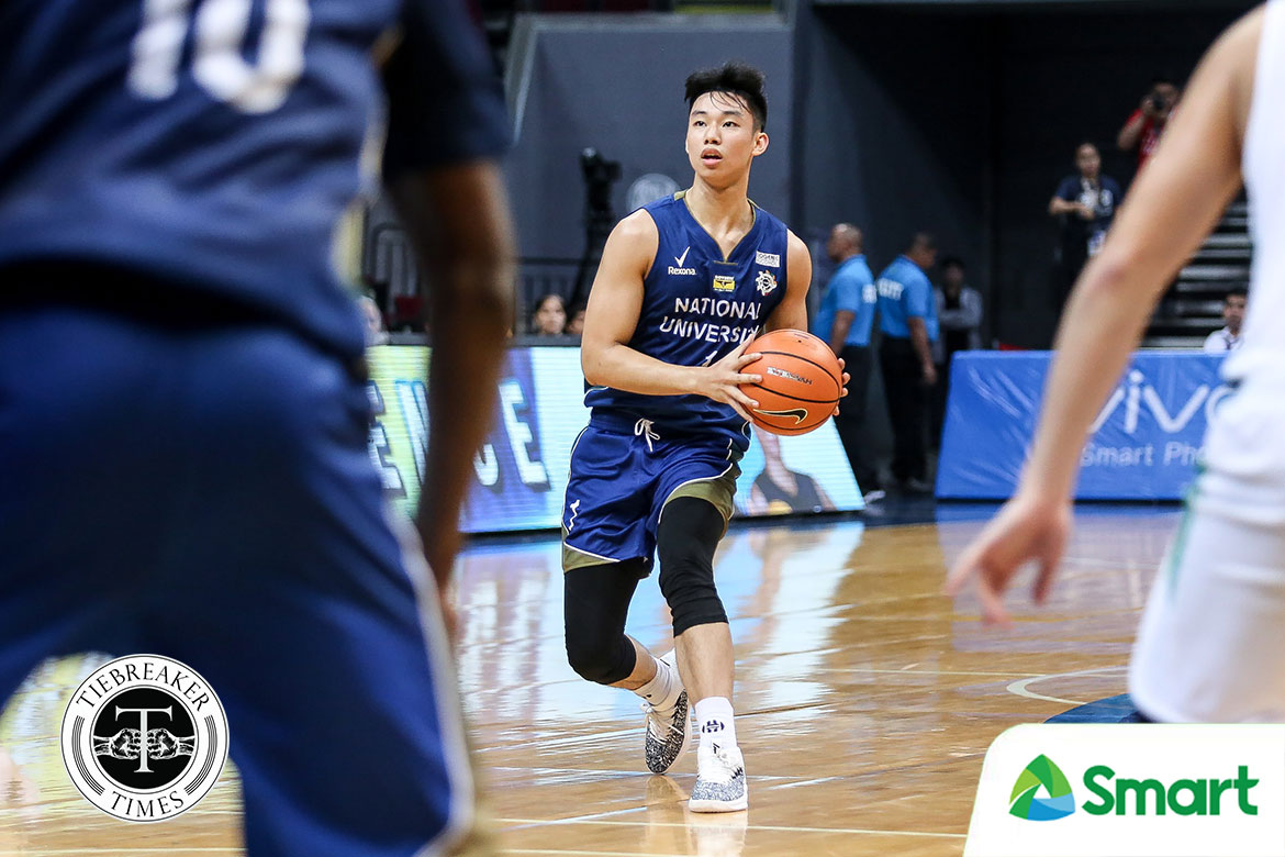Tiebreaker Times Dave Ildefonso rues NU's late-game meltdown Basketball News NU UAAP  UAAP Season 81 Men's Basketball UAAP Season 81 NU Men's Basketball Dave Ildefonso