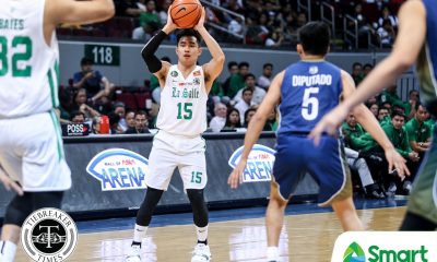 Tiebreaker Times Green Archers down to 11 players as Kib Montalbo fractures left thumb Basketball DLSU News UAAP  UAAP Season 81 Men's Basketball UAAP Season 81 Kib Montalbo DLSU Men's Basketball