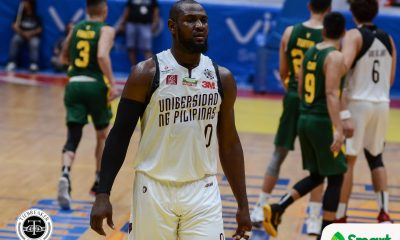 Tiebreaker Times Bright Akhuetie nursing sore hand, says Bo Perasol's absence a non-issue Basketball News UAAP UP  UP Men's Basketball UAAP Season 81 Men's Basketball UAAP Season 81 Bright Akhuetie