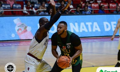 Tiebreaker Times FEU vents ire on Bo Perasol-less UP for bounce back win Basketball FEU News UAAP UP  Wendel Comboy UP Men's Basketball UAAP Season 81 Men's Basketball UAAP Season 81 Ricky Dandan Olsen Racela Juan Gomez De Liano Javi Gomez de Liano Jasper Parker FEU Men's Basketball Arvin Tolentino