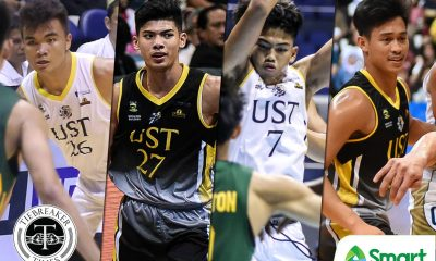 Tiebreaker Times The process of turning Tiger Cubs into Knights Basketball News UAAP UST  UST Men's Basketball UAAP Season 81 Men's Basketball UAAP Season 81 Nat Cosejo Joshua Marcos Germy Mahinay CJ Cansino Aldin Ayo