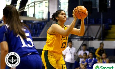 Tiebreaker Times Clare Castro parties in the paint as FEU condemns La Salle to 2nd straight loss Basketball DLSU FEU News UAAP  Valerie Mamaril UAAP Season 81 Women's Basketball UAAP Season 81 Kat Nunez FEU Women's Basketball DLSU Women's Basketball Clare Castro Cholo Villanueva Bert Flores