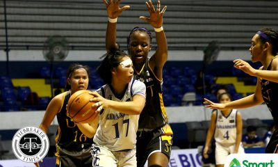 Tiebreaker Times Fully-fit Nathalia Prado powers Adamson to bounce back win over UE AdU Basketball News UAAP UE  UE Women's Basketball UAAP Season 81 Women's Basketball UAAP Season 81 Princess Pedregosa Nathalia Prado Kristeena Camacho Jo Razalo Jamie Alcoy Ewon Arayi Christine Cortizano Anne Pedregosa Aileen Lebornio Adamson Women's Basketball