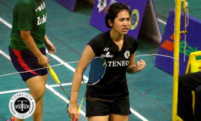 Tiebreaker Times Geva De Vera, Ateneo deal La Salle first loss; Sarah Barredo continues to impress for NU ADMU AdU Badminton DLSU News NU UAAP UE UST  UST Women's Badminton UE Women's Badminton UAAP Season 81 Women's Badminton UAAP Season 81 Thea Pomar Sarah Barredo NU Women's Badminton Mikaela Aquino Kanna Baba Jiselle Capillo Jhay Anne Macabenta Jeya Pinlac Geva de Vera DLSU Women's Badminton Clydel Pada Chelle Lunod Chanelle Lunod Bea Felizardo Ateneo Women's Badminton Alyssa Roxas Adamson Women's Badminton