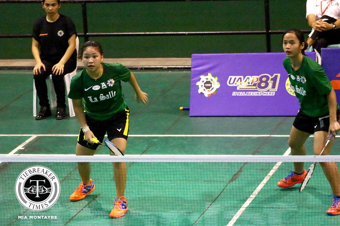 UAAP-81-WBD-ADMU-def-DLSU-Sevilla-Albo UP hand Sarah Barredo-led NU first loss; La Salle bounces back AdU Badminton DLSU News NU UAAP UE UP UST  - philippine sports news