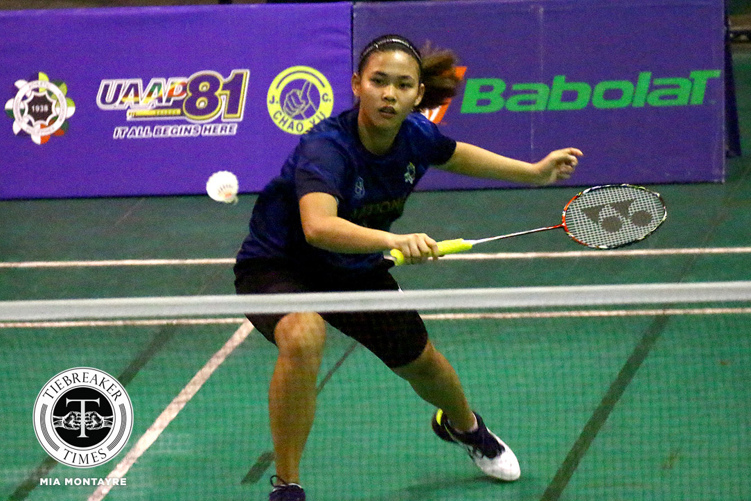 UAAP-81-WBD-NU-def-UST-Barredo Geva De Vera, Ateneo deal La Salle first loss; Sarah Barredo continues to impress for NU ADMU AdU Badminton DLSU News NU UAAP UE UST  - philippine sports news