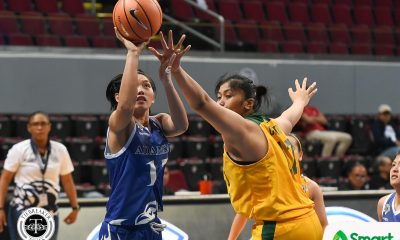 Tiebreaker Times Nathalia Prado, Adamson overcome Clare Castro, FEU for first win AdU Basketball FEU News UAAP  Valerie Mamaril UAAP Season 81 Women's Basketball UAAP Season 81 FEU Women's Basketball Ewon Arayi Clare Castro Bert Flores Adamson Women's Basketball