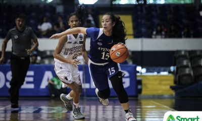 Tiebreaker Times Jhazmin Joson, Joanne Nimes step up as Ateneo grinds out win over UP ADMU Basketball News UAAP UP  UP Women's Basketball UAAP Season 81 Women's Basketball UAAP Season 81 Stiffany Larrosa Noella Cruz Melissa Newsome Kenneth Raval John Flores Joanne Nimes Jhazmin Joson Gene Amar Ateneo Women's Basketball